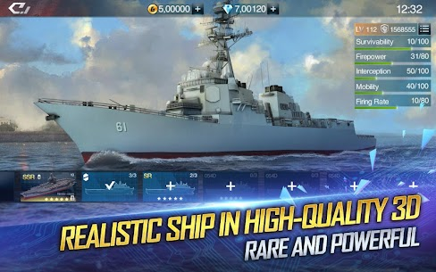 Warship Legend: Idle RPG 1.4.0.0 Android Mod + APK + Data 2