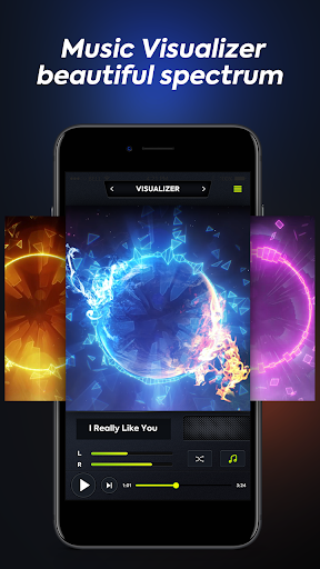 Volume Booster - Music Player with Equalizer 2.0 screenshots 1