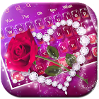 Shine Red Heart Rose Clavier icon