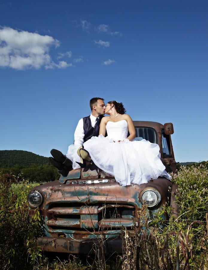 Old Truck by Jeremy Walter - Wedding Bride & Groom