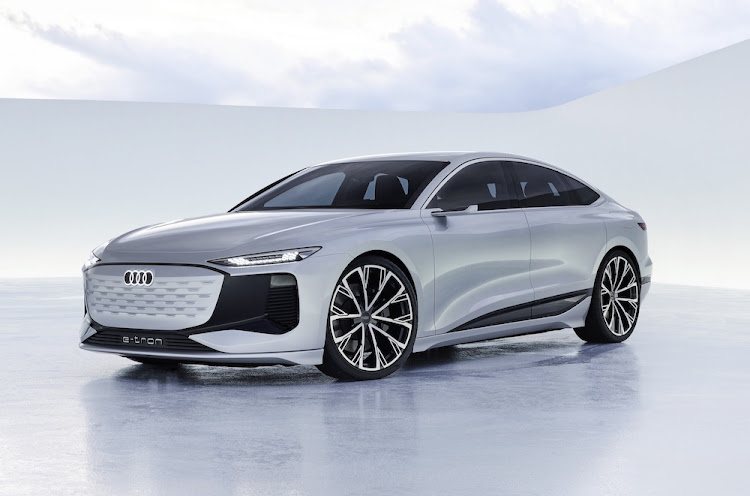 Audi revealed the next model in its E-tron strategy, the A6 Sportback concept, which strangely isn't an A7 .