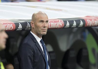 """Zidane: """"Nous ne sommes ni favoris, ni sous pression"""""""