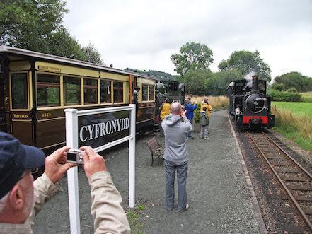 Queen's Award for Llanfair Railway