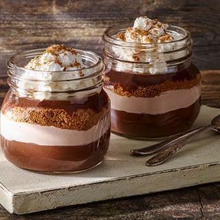 Chocolate-Cinnamon Holiday Trifle.