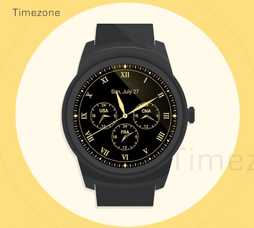 表盘Timezone-神奇表盘出品,豪华复古的表盘大作