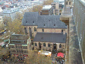 Photo: View from Reinoldikirche, Dortmund, 02.11.13