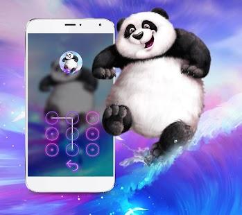 ???Kongfu Cute Panda Theme - náhled