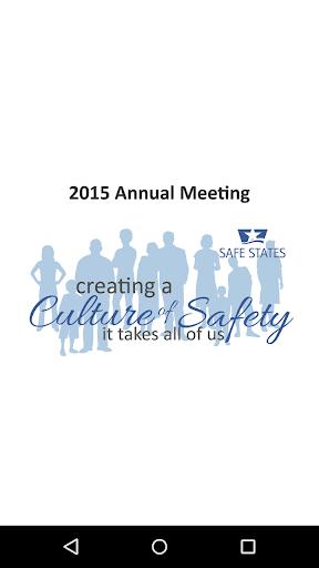 2015 Safe States Annual Mtg