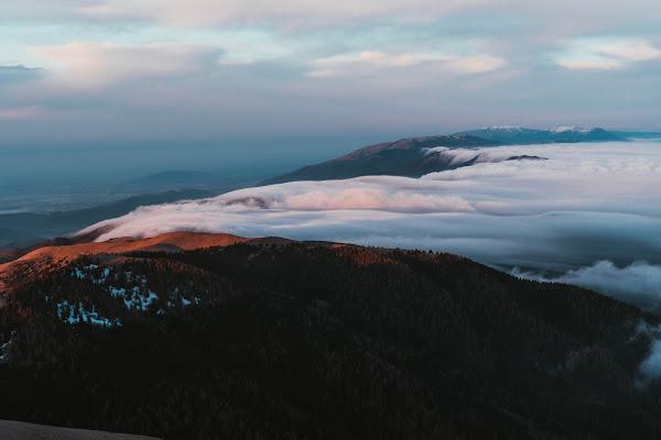 l'alba sul mare di nebbia di DanieleCettolin