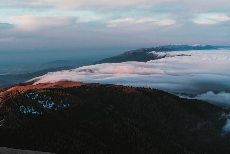 l'alba sul mare di nebbia di danielecet98