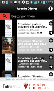 Agenda Cáceres- screenshot thumbnail