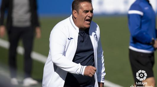 """Sandoval: """"La clasificación del Almería no es real"""""""