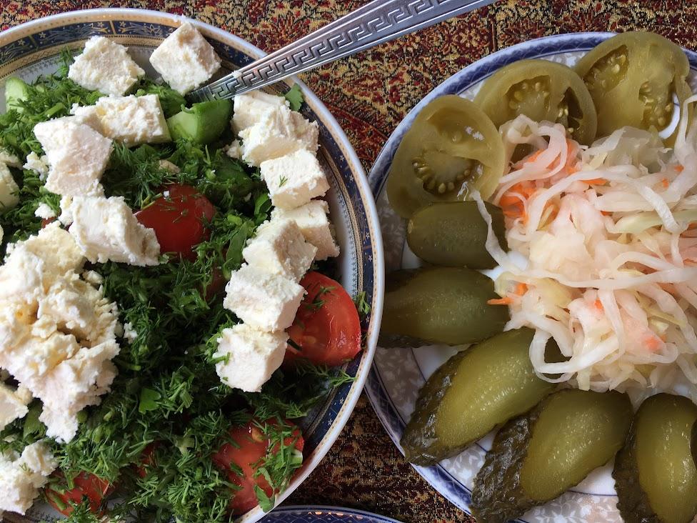 Azerbejdżan, kuchnia, warzywa