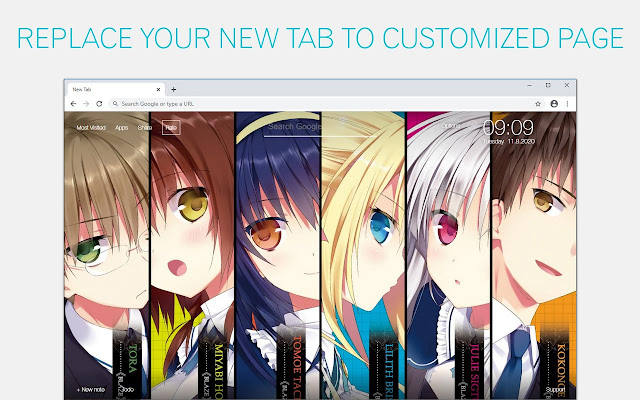 Absolute Duo Wallpaper HD Absolute Duo Anime New Tab