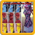 Ankara Fashion Style Design icon