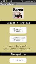Macrame Jewelry - screenshot thumbnail 02
