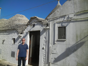 Photo: This is a trullo, and we stayed in it for a night in Alberobello. I saw a picture of trulli bout 25 years ago and have wanted to come to this part of Italy ever since to check them out. For more about trulli, see https://en.wikipedia.org/wiki/Trullo.