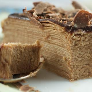 Toblerone Chocolate Crepe Cake