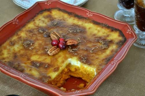 "Sweet Potato Creme Brûlée ""I just had to bring you this dish..."