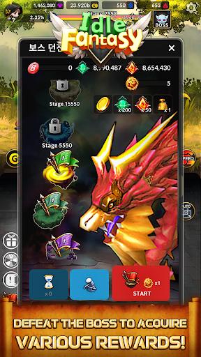 Idle Fantasy Merge RPG screenshot 4