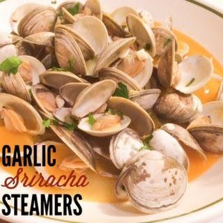 Garlic Sriracha Steamers