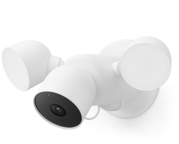 Nest cam with floodlight (wired)