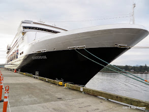 Photo: Also found in Ketchikan today, the ms Statendam.  Amy and I were on this ship in 2009 on an Alaskan cruise.
