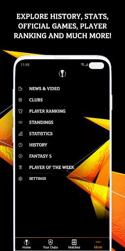 UEFA Europa League football: live scores & news 2.80.9 Screenshots 5