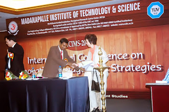 Photo: Dr. Nguyen Chau welcomed to ICIMS