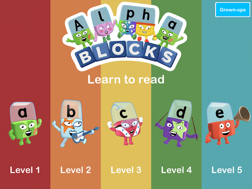 Alphablocks: Watch and Learn android2mod screenshots 8