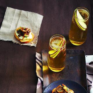 Lemony Mushroom and Herb Crostini.