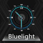 BlueLight Clock Widget Icon
