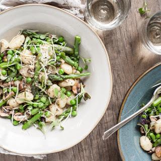 Spring Gnocchi with Mushrooms & Parmesan