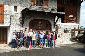 Photo: visite de caves à Marin