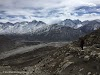 Travel to Tajikistan Pamir Highway and Wakhan Corridor // View into the Wakhan Corridor during the Engels Peak Hike
