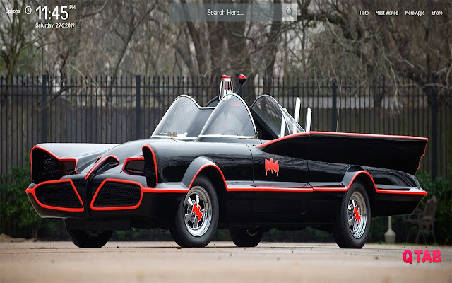Batmobile Wallpapers HD Theme