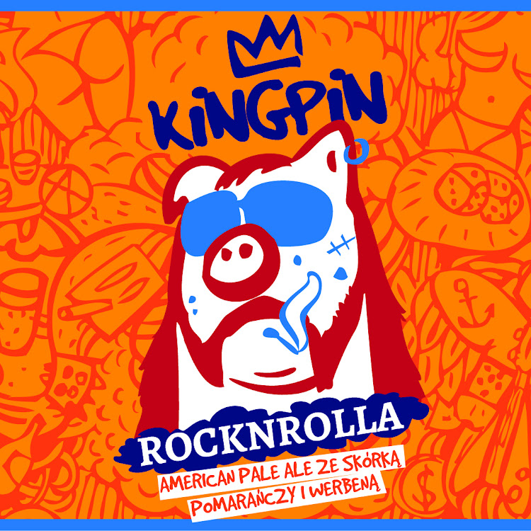 Logo of Kingpin Rocknrolla