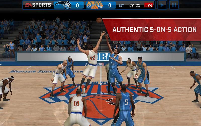 NBA LIVE Mobile- screenshot