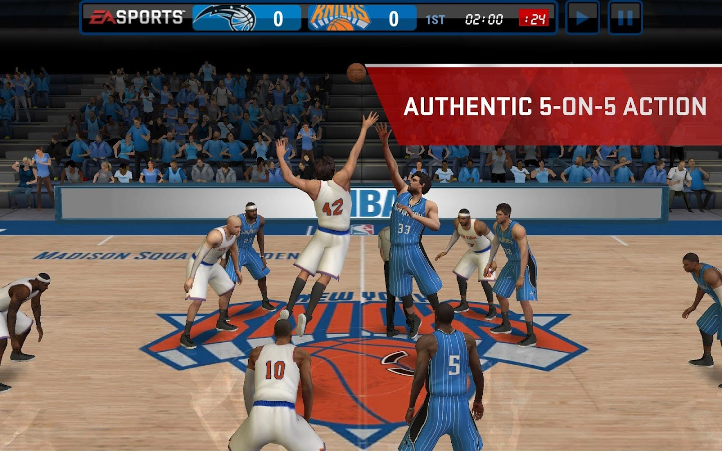 NBA LIVE Mobile - Android Apps on Google Play