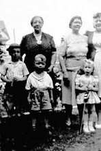 Photo: My paternal grandmother, Kristin Amalie (Stenersen) Anderson, & my maternal grandmother, Hildur Osmundsen, with my mother, Florence Anderson, cousins Robert Gifford & Richard Holz and sister Karen Anderson at a Parade on Staten Island in 1944. I was not born yet.