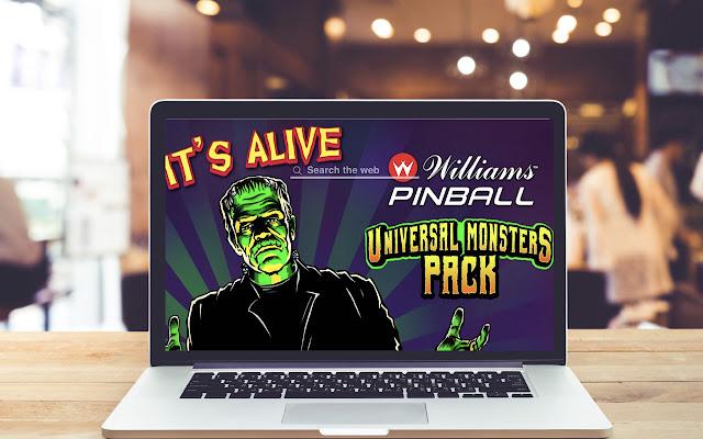 Pinball: Universal Monsters Wallpaper Theme