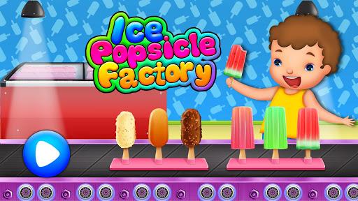 Code Triche Ice Popsicle Factory: jeu fabricant cru00e8me glacu00e9e APK MOD screenshots 1