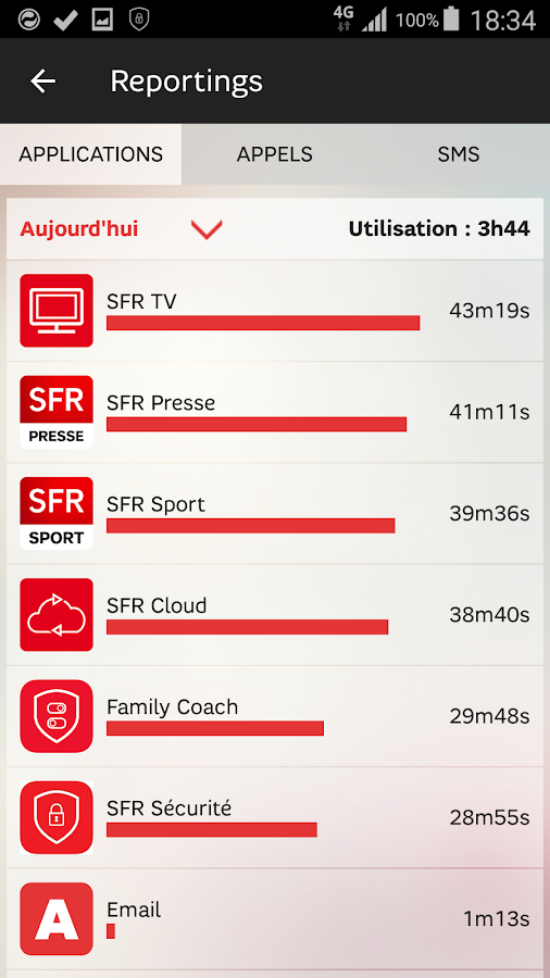 SFR FAMILY COACH- screenshot