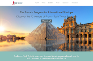 Frenchtech ticket has chosen Orson.io to create their website