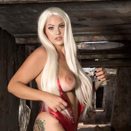 Stunning Savage at Sasco Barracks by Kens Yeaglin - Nudes & Boudoir Artistic Nude ( stunningsavage, sasco, outdoors, nipple slip, nude )