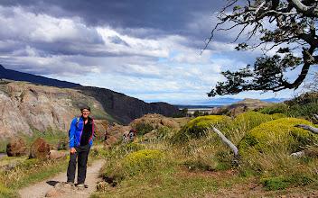 Photo: Sentier vers le Lago de Los Tres.
