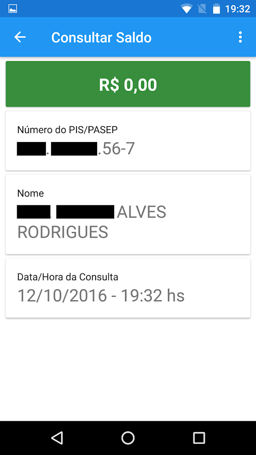 Consulta PIS PASEP 2017/2018- screenshot