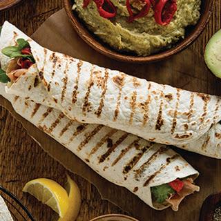 Proscuitto Hummus Wrap