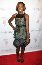 Photo: Estelle at The 2012 Angel Ball charity event in New York City, New York on October 22, 2012.  Is this dress your favorite?  SEE Cavalli's latest show: http://youtu.be/YCHpHQvxzCs