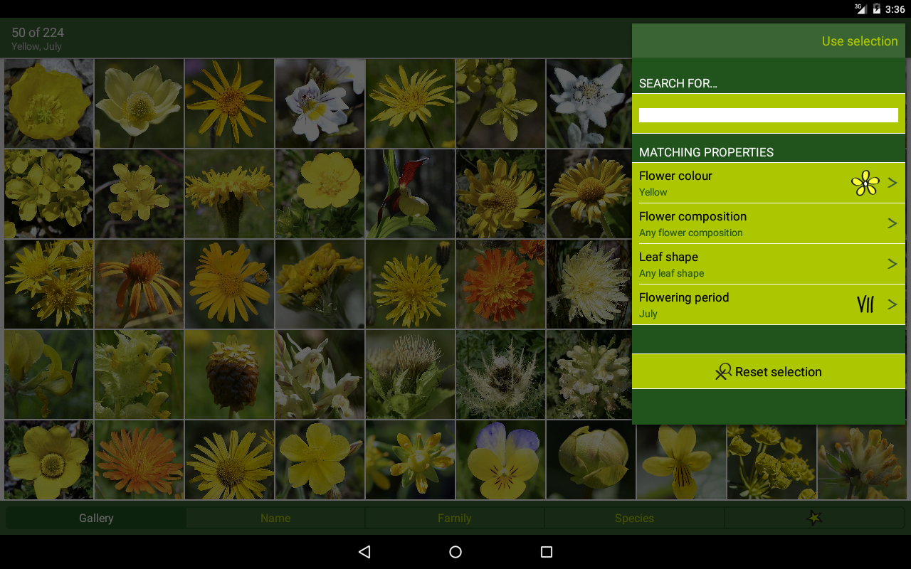 AlpineFlower Finder - Europe- screenshot